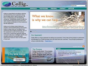 Collig is a Mergers and Acquisitions Firm specializing in technology companies.