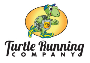 Turtle Running Company -Hunter Graphics logo designer